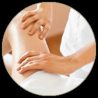 massaggio linfodrenante localizzato